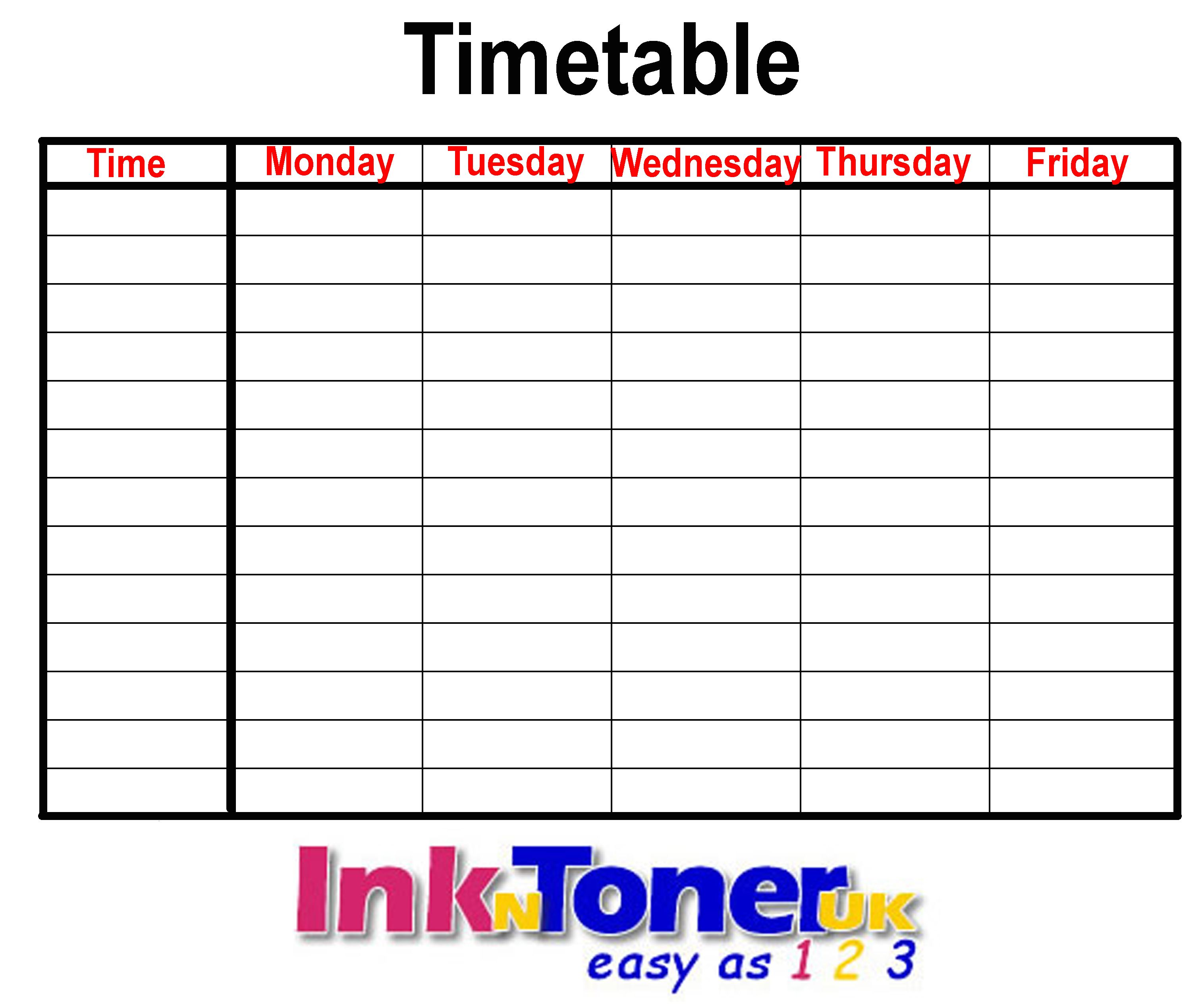 Back to school inkntoneruk blog for Rgpv time table 4 th sem 2015