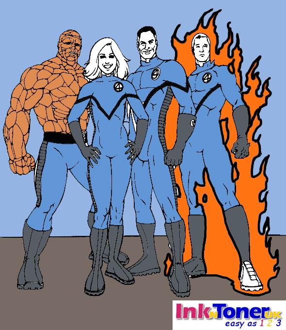 Fantastic Four Printable