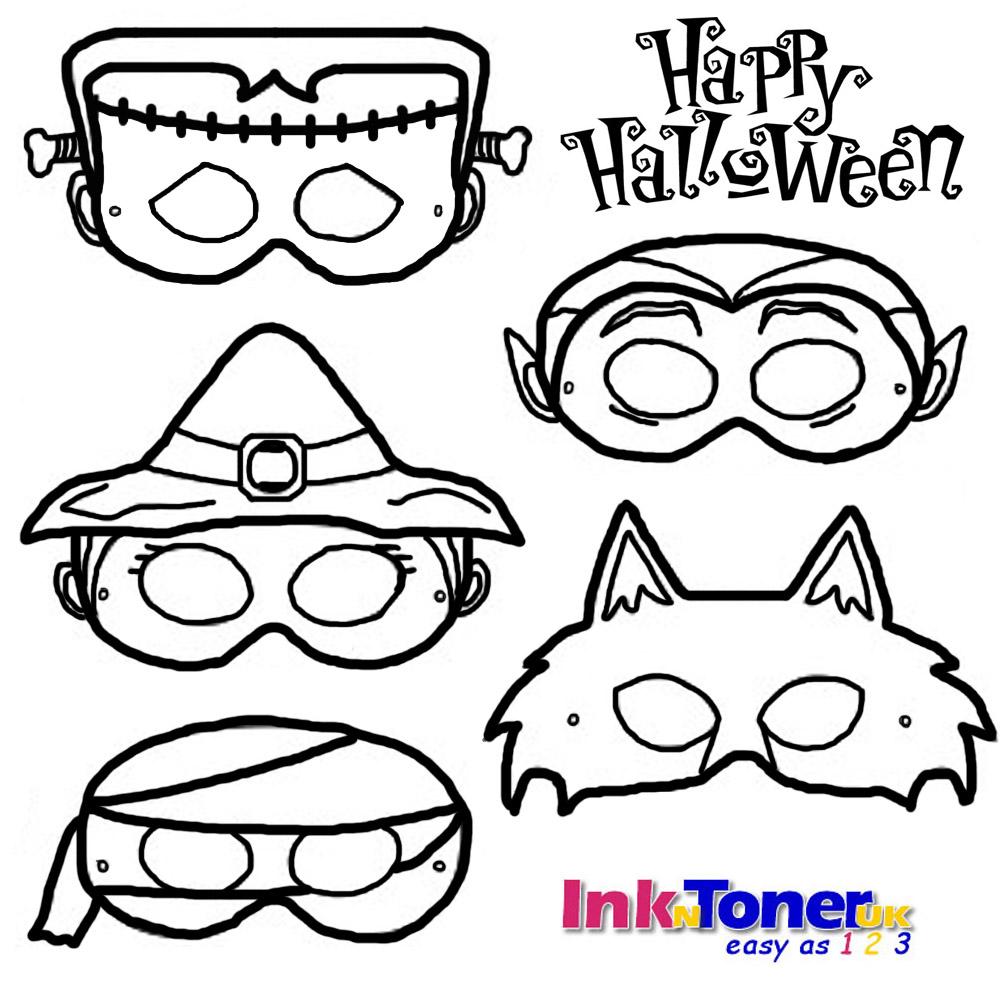 Halloween Masks InknTonerUK