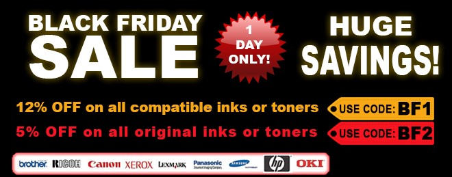 Black Friday InknTonerUK