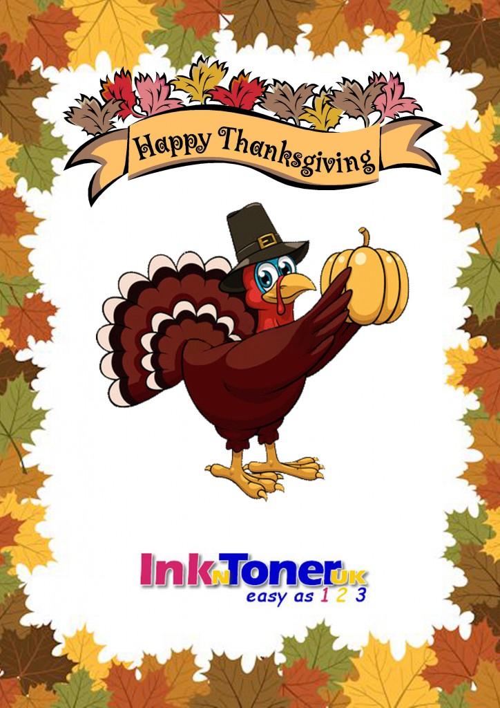 Thanksgiving Poster InknTonerUK