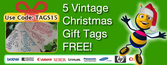offer christmas tags