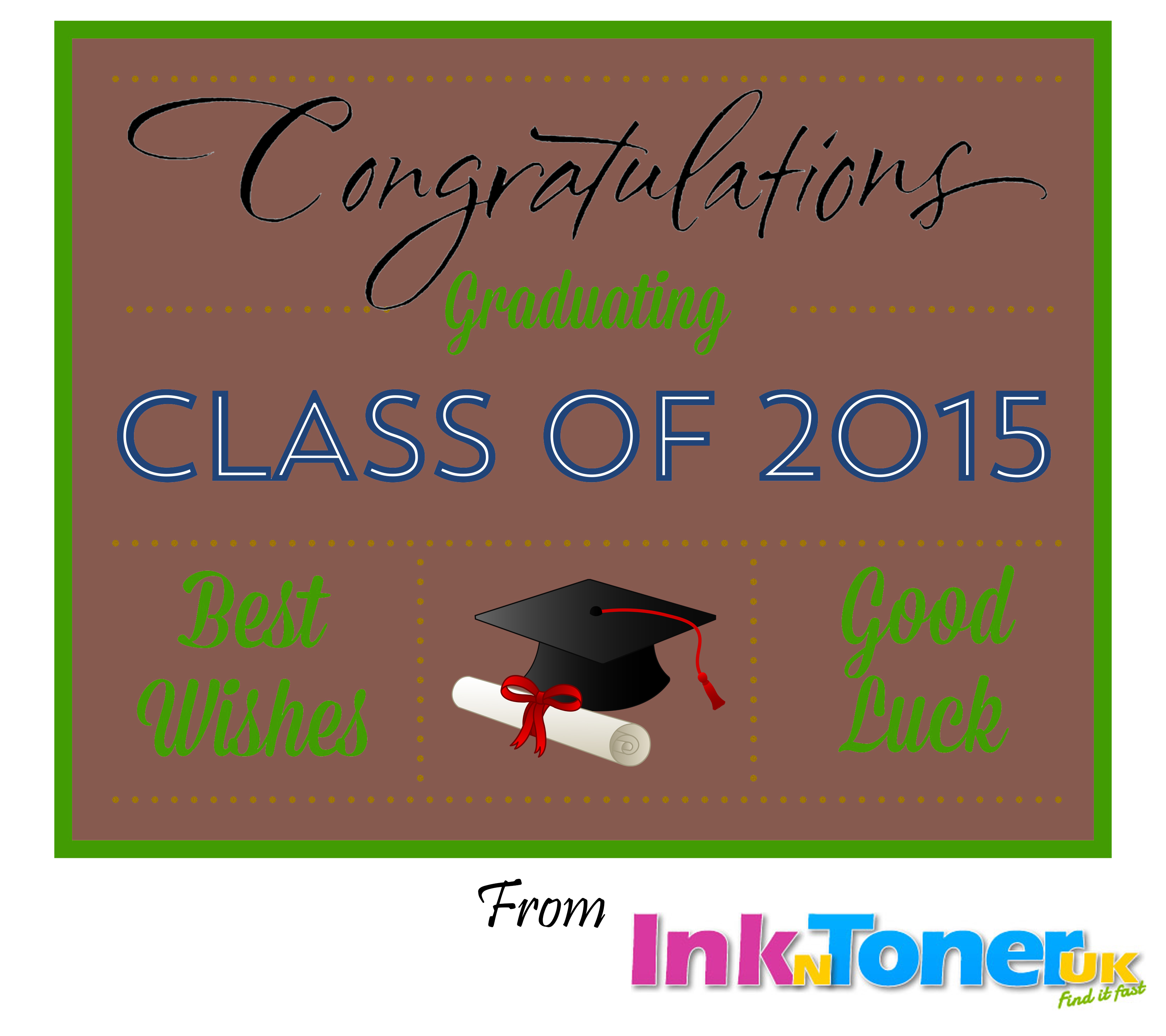GraduationCardInknTonerUK