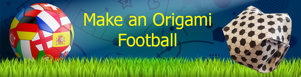 Origami For Kids : How to Make a Paper Flick Football - Finger ... | 258x1008