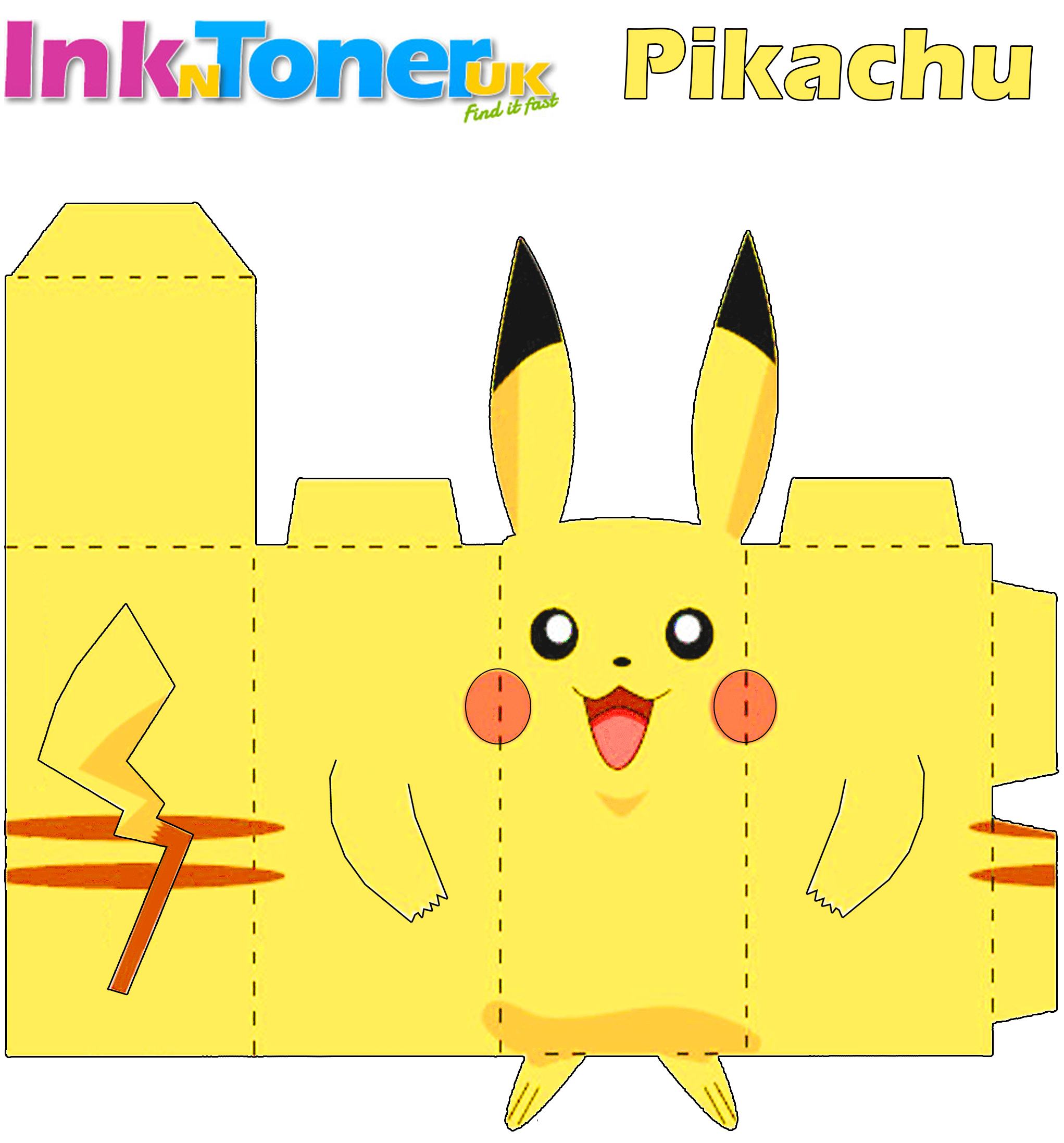 Pikachu Paper Craft Inkntoneruk Blog