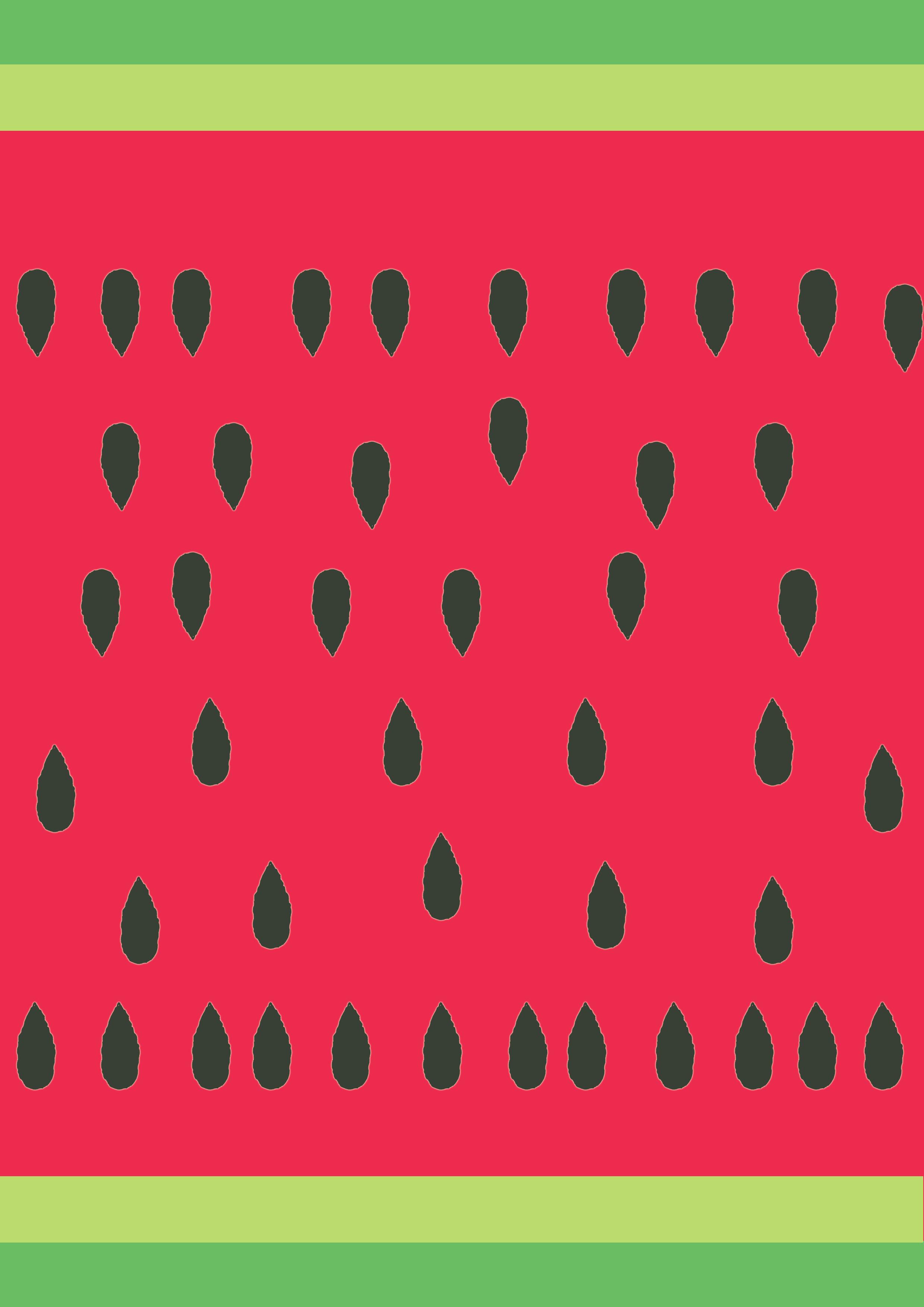 Watermelon Paper Fan! : Inkntoneruk Blog