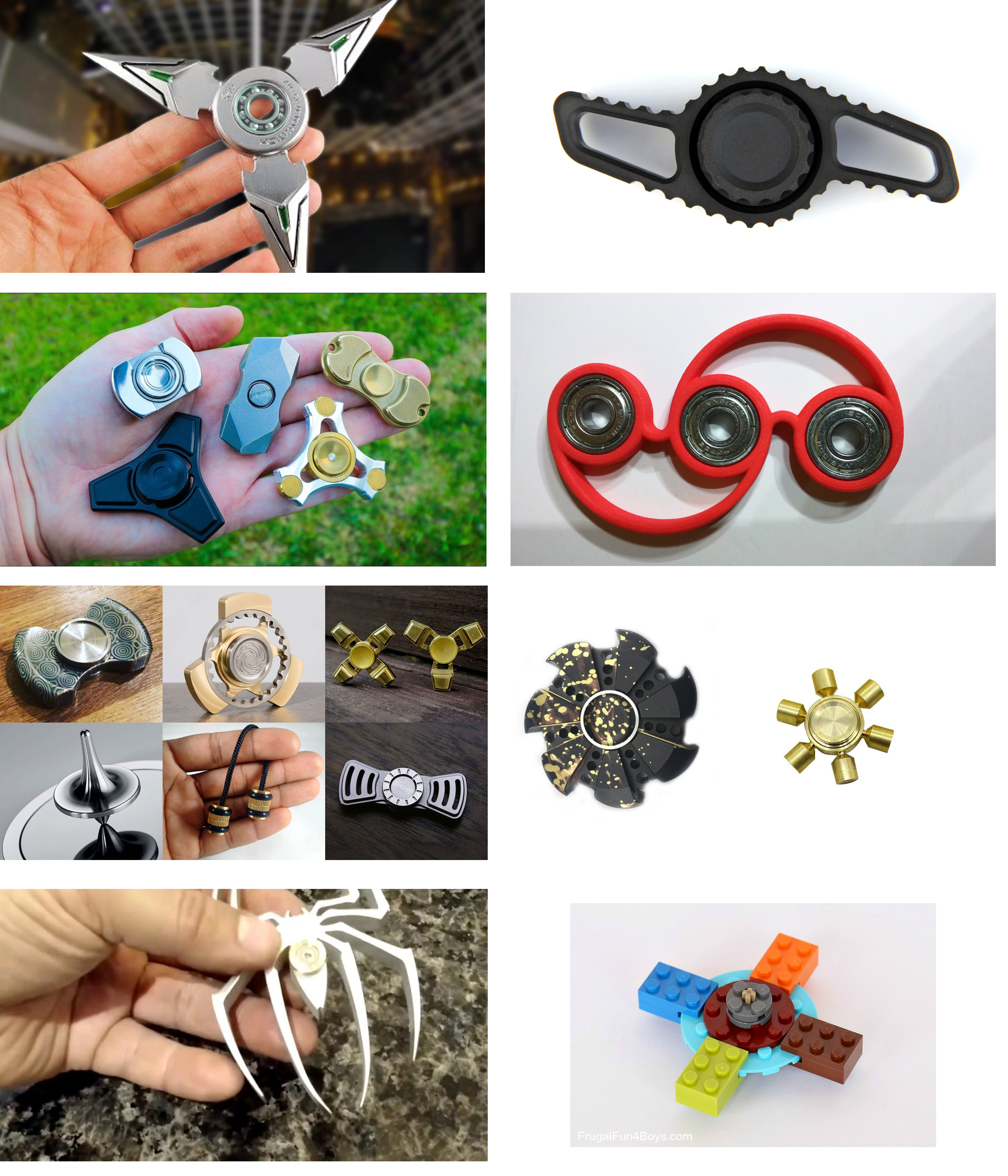 Top Coolest Fidget Spinners YOU Wont Believe Exist