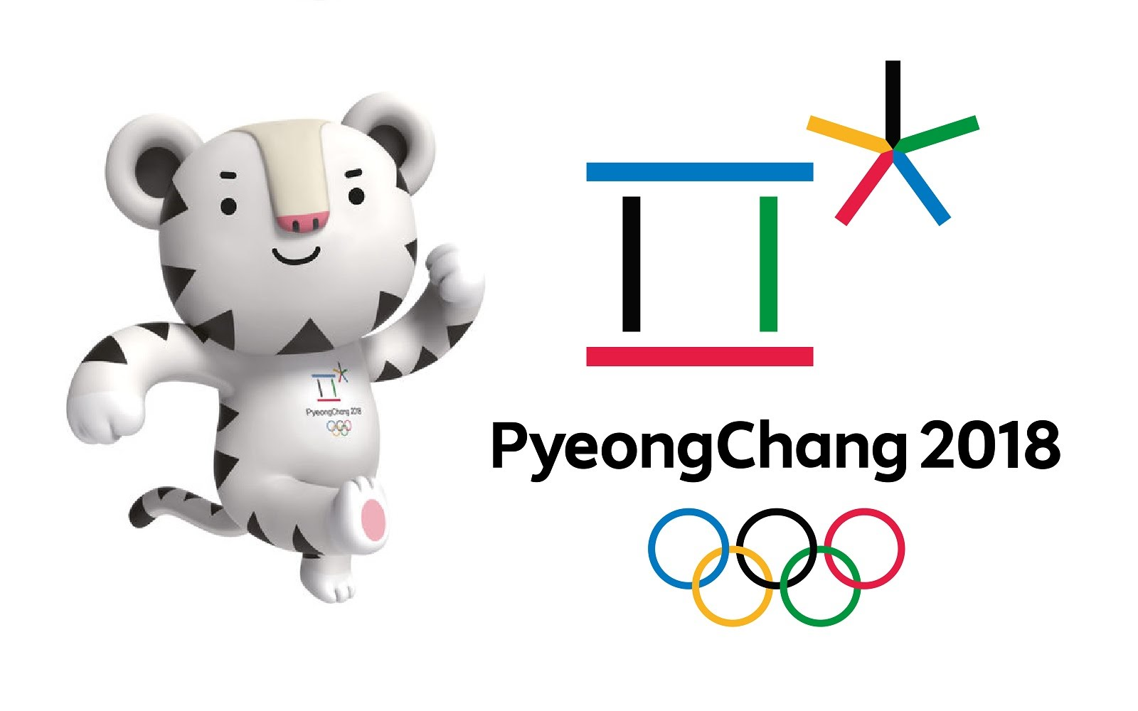 Winter Olympics Mascot and Poster